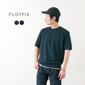 【2点以上で10%OFFクーポン】FLISTFIA(フリストフィア) ショートスリーブ スウェット / Tシャツ 半袖 / メンズ / 日本製 / SHORT SLEEVE SWEAT