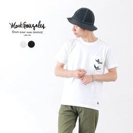 MARK GONZALES(マークゴンザレス) 7.1オンス ヘビーコットン プリント ポケット Tシャツ(ブラック・エンジェル) / メンズ / 半袖 / ストリート