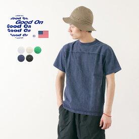 【期間限定!クーポンで10%OFF】GOOD ON(グッドオン) ヘビーフットボール Tシャツ / メンズ / 無地 / アメリカ綿 / 日本製 / ピグメントダイ / GOST1906 / HEAVY FOOTBALL TEE