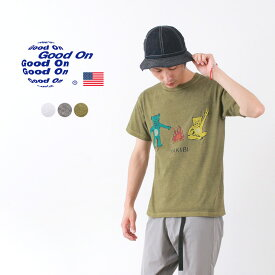 GOOD ON(グッドオン) タキビ Tシャツ 半袖 / メンズ / TELOVIN テラビン プリント / アメリカ製 / TAKIBI S/S TEE