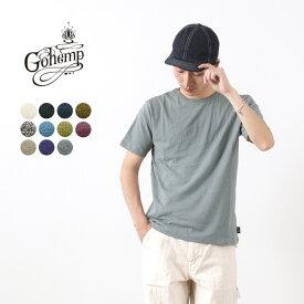 GOHEMP(ゴーヘンプ) ヘンプコットン ベーシック クルーネック 半袖 Tシャツ / メンズ / 無地 / BASIC S/SL TEE