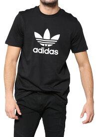 期間限定!最大20%OFFクーポン対象商品 【ゆうメール便送料無料】adidas ORIGINALS アディダス オリジナルス Tシャツ メンズ レディース ユニセックス 半袖 ロゴ 綿100% ブランド 黒 ブラック カジュアル スポーツ ストリート TREFOIL 三つ葉 EKF76 CW0709