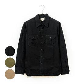 期間限定!最大20%OFFクーポン対象商品 BUZZ RICKSON'S バズリクソンズ シャツ メンズ レディース ユニセックス 綿100% 長袖 黒 ヘリンボーン ワークシャツ Herringbone Work Shirt 東洋エンタープライズ 日本製 BR26081