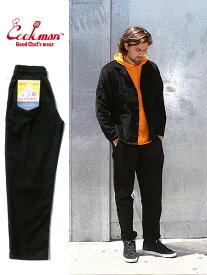 COOKMAN クックマン シェフパンツ chef pants コーデュロイ メンズ レディース ユニセックス 男女兼用 おしゃれ かわいい 大きいサイズ Chef Pants Corduroy イージーパンツ カジュアルパンツ バギーパンツ 黒 コックマン 231-93806