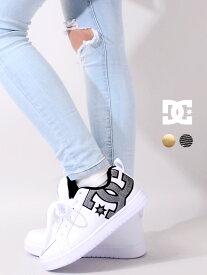 DC SHOES ディーシ— シューズ スニーカー レディース メンズ ユニセックス スケシュー 厚底 白 黒 おしゃれ かわいい ブランド COURT GRAFFIK LITE 靴 ハイテクシューズ ストリート ダンス スポーツ スケボー スケーター DM201601