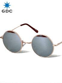 期間限定!最大20%OFFクーポン対象商品 GDC サングラス メンズ レディース ユニセックス ブランド おしゃれ かわいい 丸 ミラー 丸メガネ ジーディーシー WANDERLUST ワンダラスト GGDC ジージーディーシ— 眼鏡 メガネ カラーレンズ ドライブ フェス 海 33030-MRR