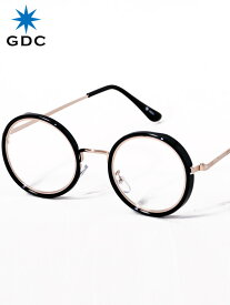 期間限定!最大20%OFFクーポン対象商品 GDC サングラス メンズ レディース ユニセックス ブランド おしゃれ かわいい 丸 薄い 色 ブラック クリアー 丸メガネ ジーディーシー SUNGLASSES-G 眼鏡 メガネ カラーレンズ ドライブ フェス 海 川 レジャー C37029-B-C
