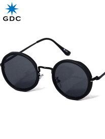 期間限定!最大20%OFFクーポン対象商品 GDC サングラス メンズ レディース ユニセックス ブランド おしゃれ かわいい 丸 薄い 色 ブラック 丸メガネ ジーディーシー SUNGLASSES-G 眼鏡 メガネ カラーレンズ ドライブ フェス 海 川 レジャー C37029-BLK