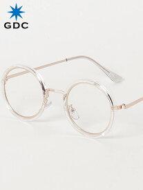 期間限定!最大20%OFFクーポン対象商品 GDC サングラス メンズ レディース ユニセックス ブランド おしゃれ かわいい 丸 薄い 色 クリアー 丸メガネ ジーディーシー SUNGLASSES-G 眼鏡 メガネ カラーレンズ ドライブ フェス 海 川 レジャー C37029-CLR