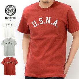 ヒューストン Houston Tシャツ 半袖 U.S.N.A 21184 父の日 プレゼント ギフト ラッピング
