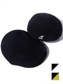 期間限定!最大20%OFFクーポン対象商品 KANGOL カンゴール ハンチング ウール 帽子 メンズ レディース ユニセックス ベレー帽 ブランド 大きいサイズ SEAMLESS WOOL 507 定番 BACK TO FRONT ストリート スケーター トレンド K0875FA 187-169002