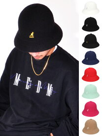 KANGOL カンゴール 帽子 ハット メンズ レディース 大きいサイズ ユニセックス ブランド おしゃれ かわいい Bermuda Casual バミューダハット カジュアル ベル型 ベルハット バケットハット カジュアル ストリート ダンス パイル 0397BC 195169015