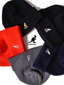 【ゆうメール便送料無料】KANGOL カンゴール 帽子 ニット帽 レディース メンズ ユニセックス ブランド かわいい おしゃれ Acrylic Cuff Pull-On ニットキャップ ワッチ ビーニー ロゴ刺繍 ペア リンクコーデ ACRYLIC-CUFF-PULL 198-169203