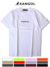 期間限定!最大20%OFFクーポン対象商品 KANGOL カンゴール Tシャツ メンズ レディース ユニセックス 半袖 ブランド 大きいサイズ ビッグシルエット スポーツ 綿100% おしゃれ 白 黒 ベージュ ピンク オレンジ ペールトーンカラー ネオンカラー ストリート ARKG-902