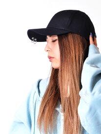 MACK BARRY マクバリ— 帽子 キャップ レディース メンズ ユニセックス ブランド 無地 韓国 大きめ おしゃれ かわいい MACK CURVE RING CAP リング シンプル ストリート ダンス CURVE-RING-CAP