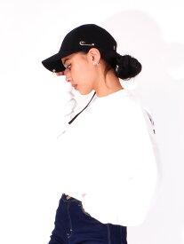 MACK BARRY マクバリ— 帽子 キャップ レディース メンズ ユニセックス ブランド 無地 韓国 おしゃれ かわいい MACK LONGSTRAP CURVE RING CAP ロングストラップ シンプル ストリート ダンス LONGSTRAP-RINGCAP