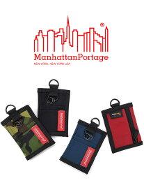【ゆうメール便送料無料】Manhattan Portage マンハッタンポーテージ コインケース 小銭入れ メンズ レディース ユニセックス ブランド カード入れ キーリング付き Dカン Mint Coin Case パスケース 定期入れ 財布 正規品 MP1048