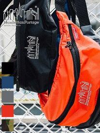 Manhattan Portage マンハッタンポーテージ ショルダーバッグ メンズ レディース ユニセックス 斜めがけ 軽い 軽量 ナイロン かわいい 小さめ ボディバッグ ウエストバッグ ウエストポーチ ウエポ 正規品 通勤 通学 MP1100CDL-19