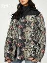 RIPNDIP リップンディップ アウター ジャケット メンズ レディース ユニセックス 大きいサイズ ブランド おしゃれ Nerm & Jerm Tee Camo Puffer Jacket ショー