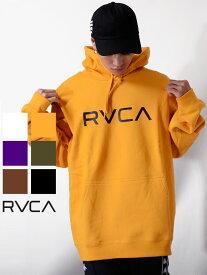 期間限定!最大20%OFFクーポン対象商品 RVCA ルーカ パーカー メンズ レディース ユニセックス 大きいサイズ ブランド おしゃれ BIG RVCA PULL ビッグ ルーカ ロゴ ビッグロゴ ルカ プルパーカー スウェット スウェットシャツ ストリート スポーツ ジム AJ042-012