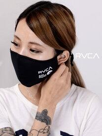 【ゆうメール便送料無料】RVCA ルーカ マスク 洗える メンズ レディース ユニセックス 男女兼用 おしゃれ 洗えるマスク ファッションマスク PM2.5対応 花粉 飛沫99%カット フィルター付き 黒 ウォッシャブルマスク BA042-978
