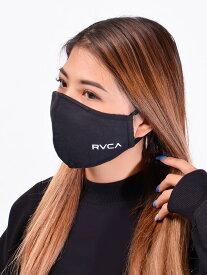 【ゆうメール便送料無料】RVCA ルーカ マスク 洗える メンズ レディース ユニセックス 男女兼用 おしゃれ RVCA LOGO MASK 2 洗えるマスク PM2.5対応 花粉 飛沫99%カット フィルター付き 黒 ウォッシャブルマスク BA042-979