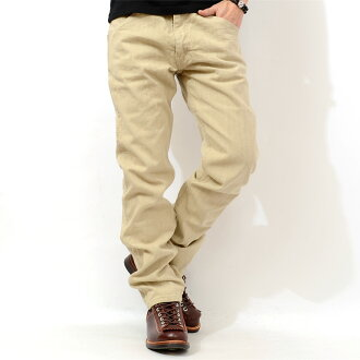 Mister freedom jeans developed wheat beige denim pants MFSC SC41406