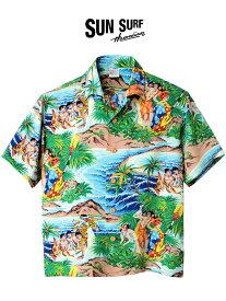 期間限定!最大20%OFFクーポン対象商品 SUN SURF サンサーフ アロハ シャツ アロハシャツ 2019 メンズ レディース ユニセックス 大きいサイズ Festival PALI HAWAIIAN STYLE Special Edition 東洋エンタープライズ 日本製 ハワイアンシャツ リゾートウェア レーヨン SS37862