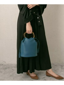 [Rakuten Fashion]LANAプチサークルショルダーバケツ RODE SKO ロデスコ バッグ ショルダーバッグ ブルー イエロー グレー【送料無料】
