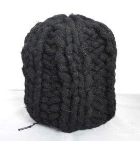 (1227) 【その他】 ディ-ゼル ニット帽 ブラック  [小物] 【中古】