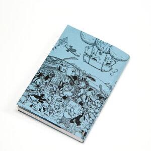 ラスムス凸凹紙のブックカバー