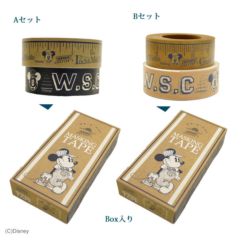 Disney Workstyle Collection/マスキングテープ