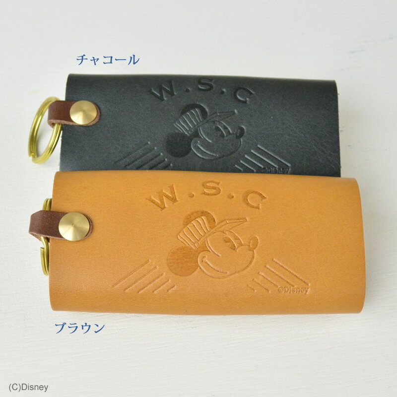 Disney Workstyle Collection/レザーキーケース