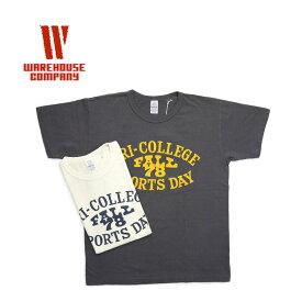 """WAREHOUSE ウエアハウス 半袖 Tシャツ """"TRI-COLLEGE""""4064 【メンズ Tシャツ】【楽ギフ_包装】10P03Dec16"""
