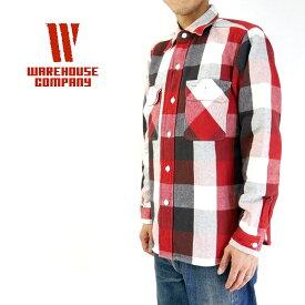 WAREHOUSE ウエアハウス シャツ FLANNEL SHIRTS 3104 【メンズ ネルシャツ】【楽ギフ_包装】10P03Dec16