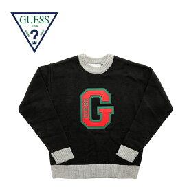 "GUESS GREEN LABEL ゲス グリーンレーベル セーター ""logo sweater"" GRFW19-026 【正規取り扱い代理店】【ロゴ ロス 正規品】【楽ギフ_包装】【RCP】10P03Dec16"