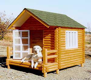 ログペットハウス 1400型 犬小屋 屋外 柴犬 ゴールデンレトリバー ラブラドールレトリバー 大型犬 中型犬 小型犬