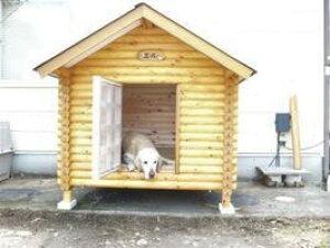 ログペットハウス 1250型 スタンダード 中型犬 大型犬 犬舎 柴犬 ラブラドールレトリバー ゴールデンレトリバー 犬小屋 屋外