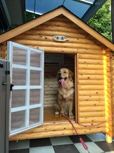 ログペットハウス 1550型 スタンダード犬小屋 大型犬 中型犬 小型犬 柴犬 ゴールデンレトリバー ラブラドールレトリバー 犬小屋 屋外 犬舎