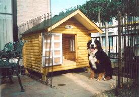 ログペットハウス 1400型 スタンダード犬小屋 小型犬 中型犬 大型犬 犬舎 ラブラドールレトリバー ゴールデンレトリバー 柴犬 犬小屋 屋外