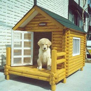 ログペットハウス 1250型 ラブラドールレトリバー ゴールデンレトリバー 柴犬 犬小屋 小型犬 中型犬 大型犬 屋外