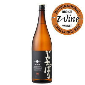 IWC2020 Bronzeメダル受賞純米酒じょっぱり[1.8L]