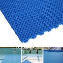 【プール用安全床材 水中マット】プールクッション 25×25cm 1枚 プールの下に敷くマット プール用床マット