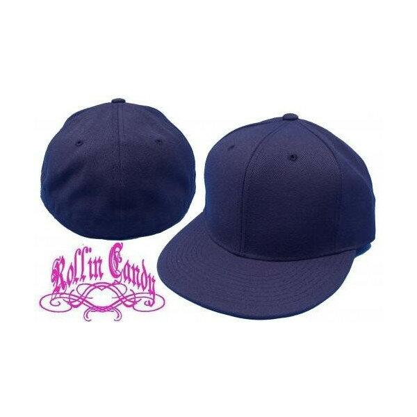 カスタム自在♪無地ベースボールキャップ 【ネイビー】 ダンサー ダンス 衣装 野球帽 メンズ レディース キッズ 帽子 小さいサイズ 大きいサイズ ヒップホップ 07B-12B 【メール便不可】