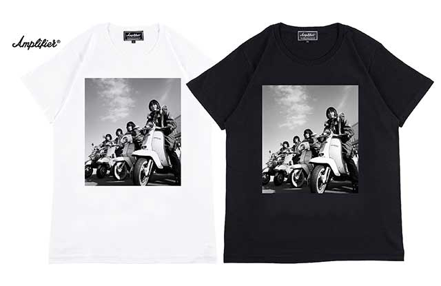 "Amplifier アンプリファイア ""THE COLLECTORS"" TEE design A ザ コレクターズ 2色(Black/White)"