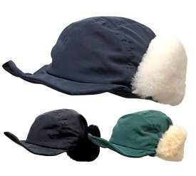 ★SALE 50%OFF★ VOTE Make New Clothes ヴォート メイク ニュー クローズ SHEEPSKIN BOA CAP キャップ アビエイターハット フライトキャップ