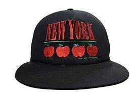 ★SALE 50%OFF★ VOTE Make New Clothes ヴォート メイク ニュー クローズ APPLE NEW YORK CAP キャップ BLACK