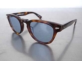 金子光 x SD 太阳镜 Type4 标准加州太阳镜棕色/蓝色太阳镜金子眼镜