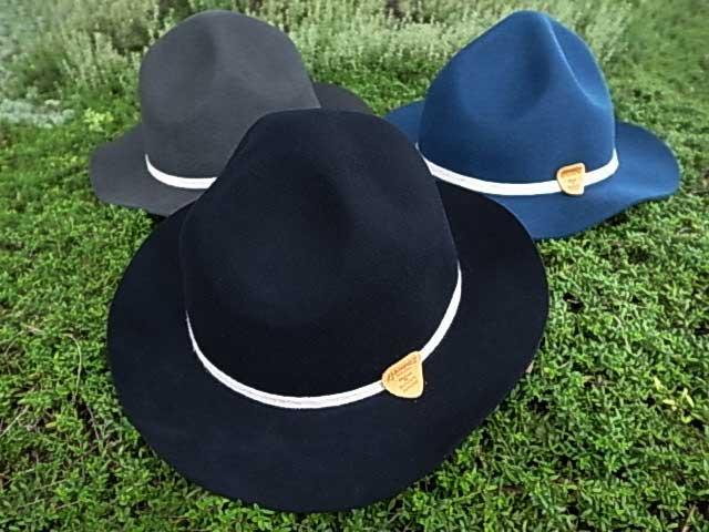 ★SALE 40%OFF★GOHEMP ゴーヘンプ BLUES MOUTAIN HAT ブルース マウンテン ハット 3色(ブラック・グレー・ブルー)