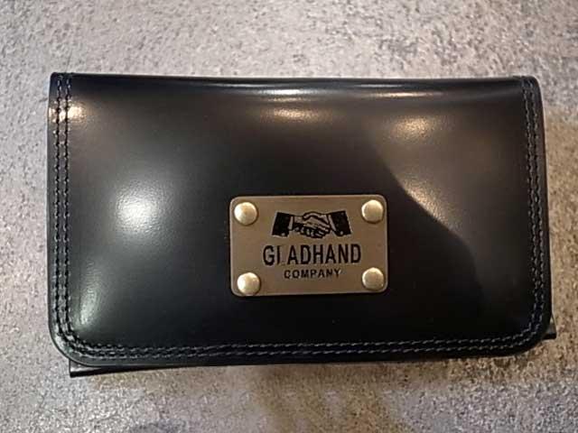 POTER ポーター × GLAD HAND グラッドハンド BELONGINGS CARDCASE BLACK カードケース ブラック GLADHAND BY POTER YOSHIDA & Co., LTD. 日本製